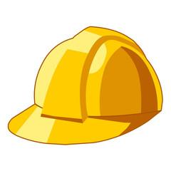 safety hat isolated illustration