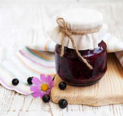 Black currants jam