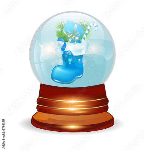 Christmas decorative snow ball