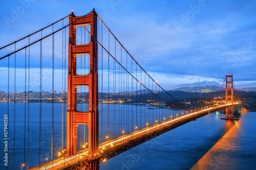 Famous Golden Gate Bridge