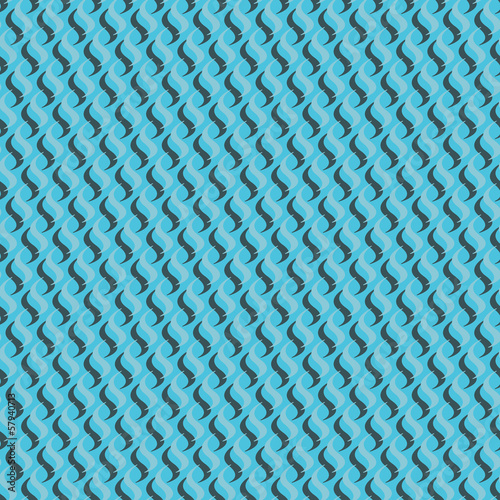 Vintage abstract background, seamless retro pattern