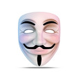 canvas print picture - Guy Fawkes 99 Mask