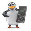Penguin calculates