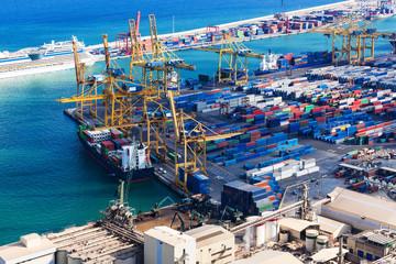 modern sea port