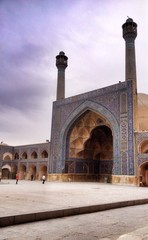 Mosque in Ishfahan Iran