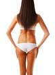 slim healthy woman body