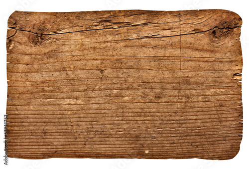 Tuinposter Hout wooden sign background message