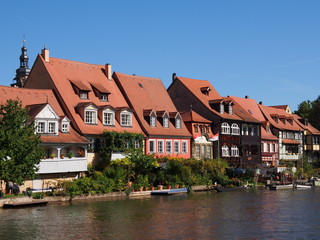 Little Venice in Bamberg, Germany