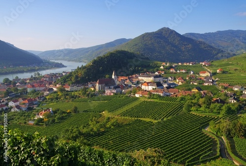 canvas print picture Spitz in der Wachau - Spitz in Wachau 01