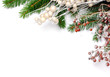Leinwandbild Motiv Christmas frame