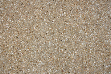 Texture of washed sand floor.