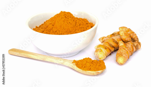 Tumeric   powder.