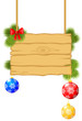 Christmas congratulations signboard