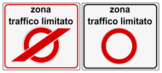 Zona Traffico Limitato - ZTL