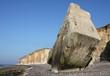 falaises et blockhaus en normandie,seine maritime