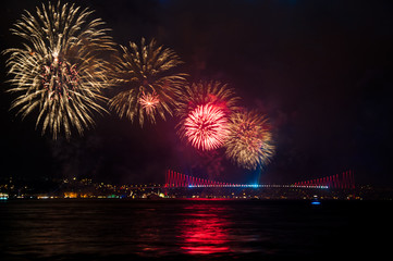 celebration in istanbul, Turkey