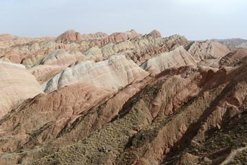 Landscape of Danxia landform