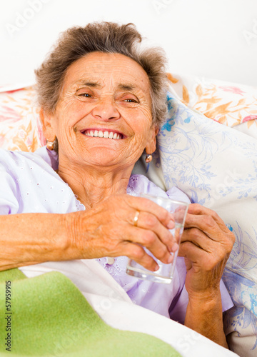 Elderly Drinking Water