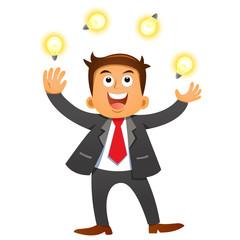 Businessman idea concepts.