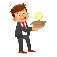 Businessman idea concepts