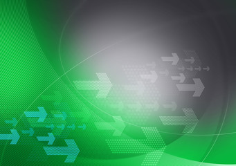 green grey graphic arrows backdrop