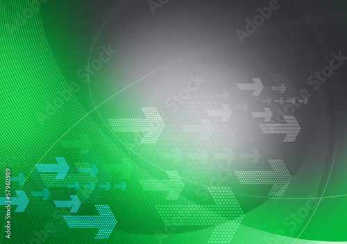 green grey graphic arrows backdrop