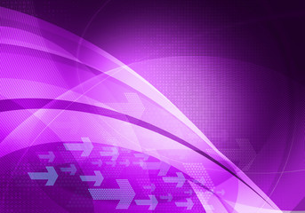 purple graphic arrows background