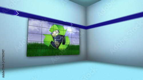 Recycle Concept in Monitors and Room