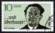 Postage stamp GDR 1990 Kurt Tucholsky, Novelist, Journalist