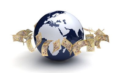 Global Business Canadian Currency