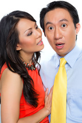 Sexual harassment by Chinese woman in office