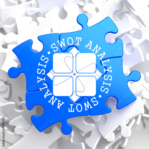 SWOT Analisis on Blue Puzzle.