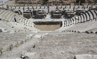 Amphitheater2 (Coliseum) in Ephesus (Efes) Turkey