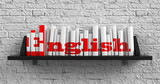Fototapety English. Education Concept.