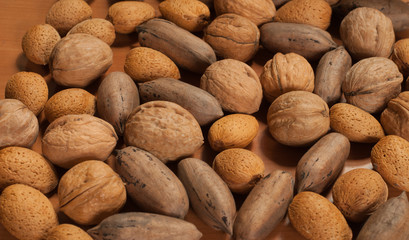 Assortiment of nuts