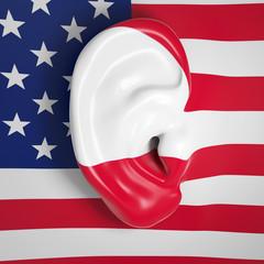USA spioniert