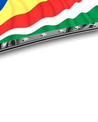 Designelement Flagge Seychellen