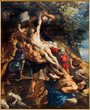 Antwerp - Deposition of the cross  by Peter Paul Rubens