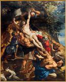 Antwerp - Deposition of the cross  by Peter Paul Rubens