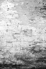 texture of shabby paint and plaster cracks background