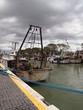 Particolari di barche sulla banchina