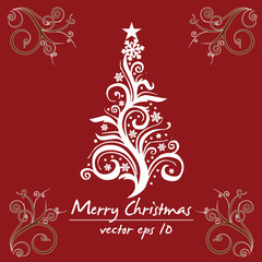 Merry Christmas! Vector eps 10 / clip art