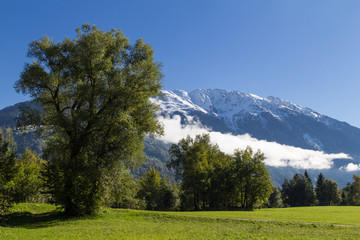 Alps landcape