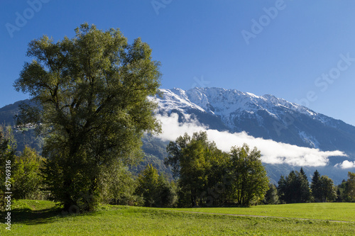 Alps landcape