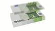 100 Euro bill
