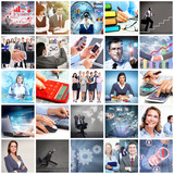 Business team collage. - 57972369