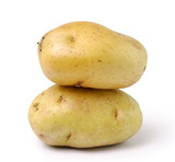 potato isolated on white background