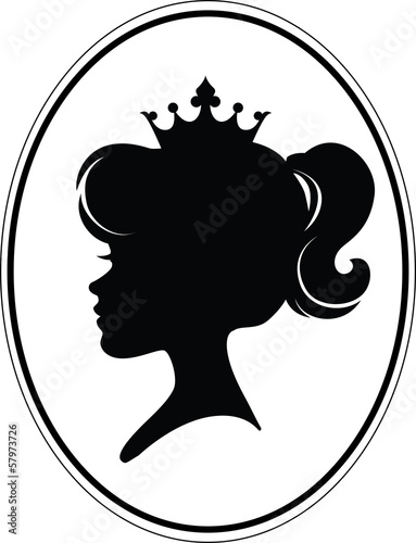 Girl Princess Silhouette