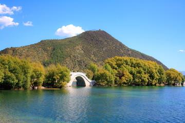 Landscape of Lijiang  Yunnan province  China