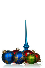 Set of baubles